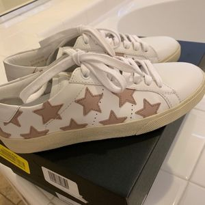 Saint Laurent Court Classic Stars Sneaker - 36